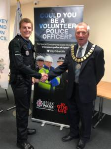 Community Special Constable, Jonathan Cuthbertson.