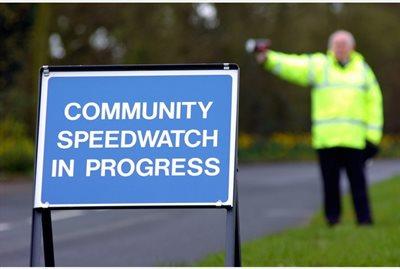 Community Speedwatch Signage